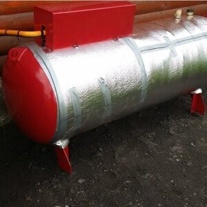 Подключение емкости сжиженного газа